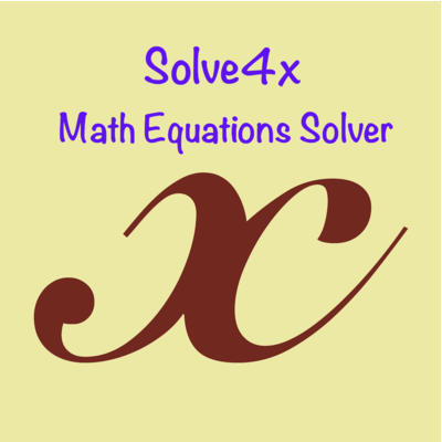 Solve4x ios application