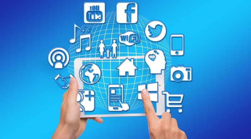 social media tablet